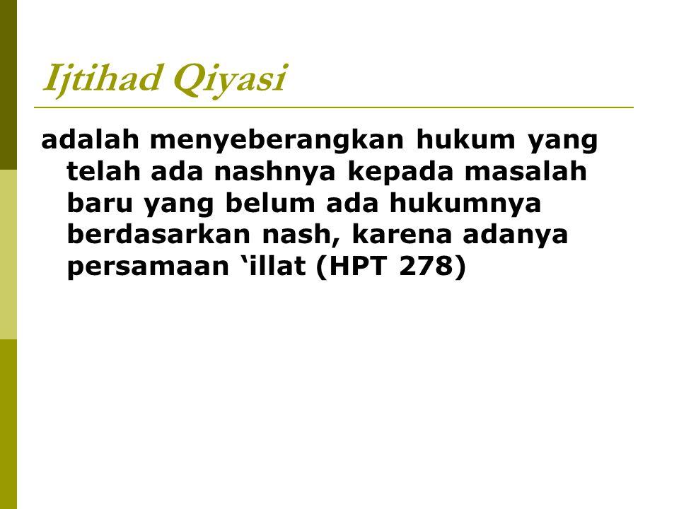 Ijtihad Qiyasi