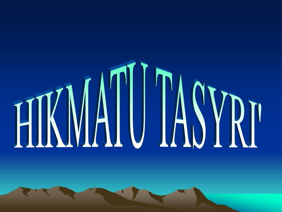 HIKMATU TASYRI