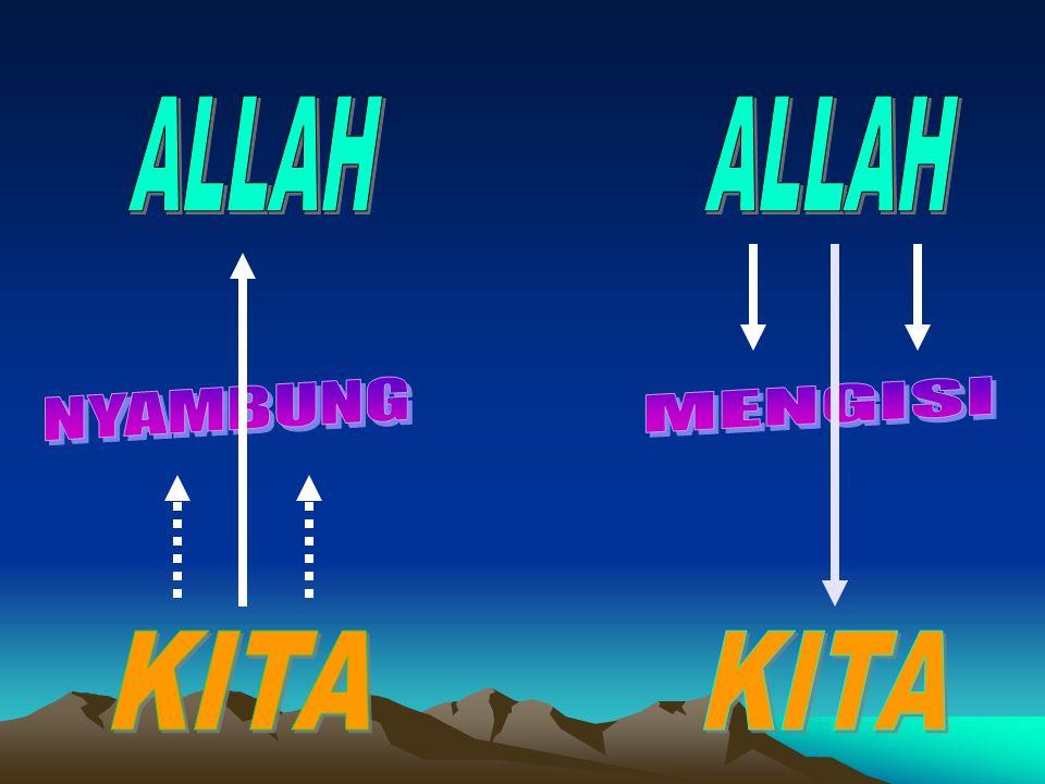ALLAH ALLAH NYAMBUNG MENGISI KITA KITA