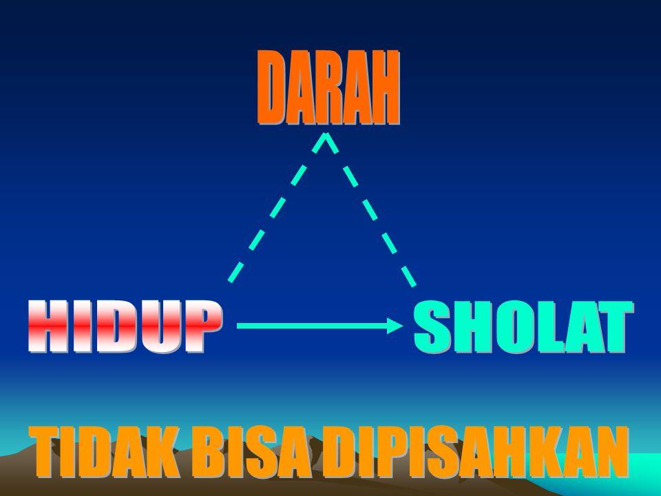 Your Text Here DARAH DARAH HIDUP SHOLAT TIDAK BISA DIPISAHKAN