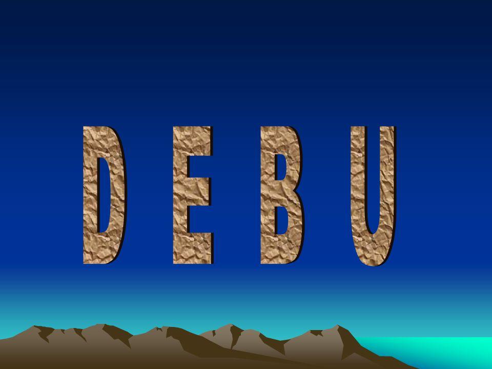 D E B U