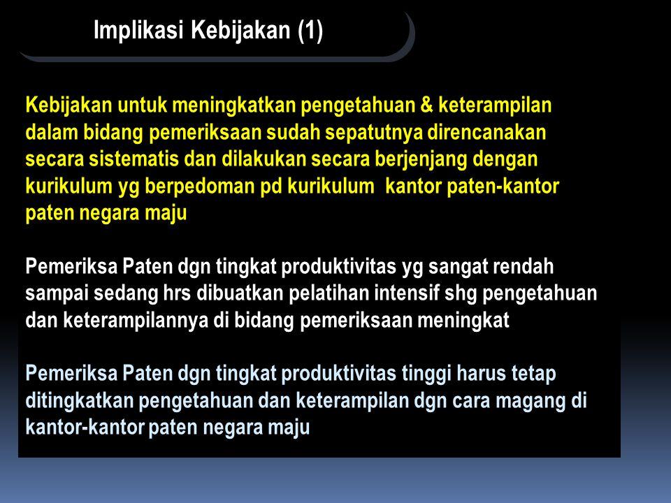 Implikasi Kebijakan (1)