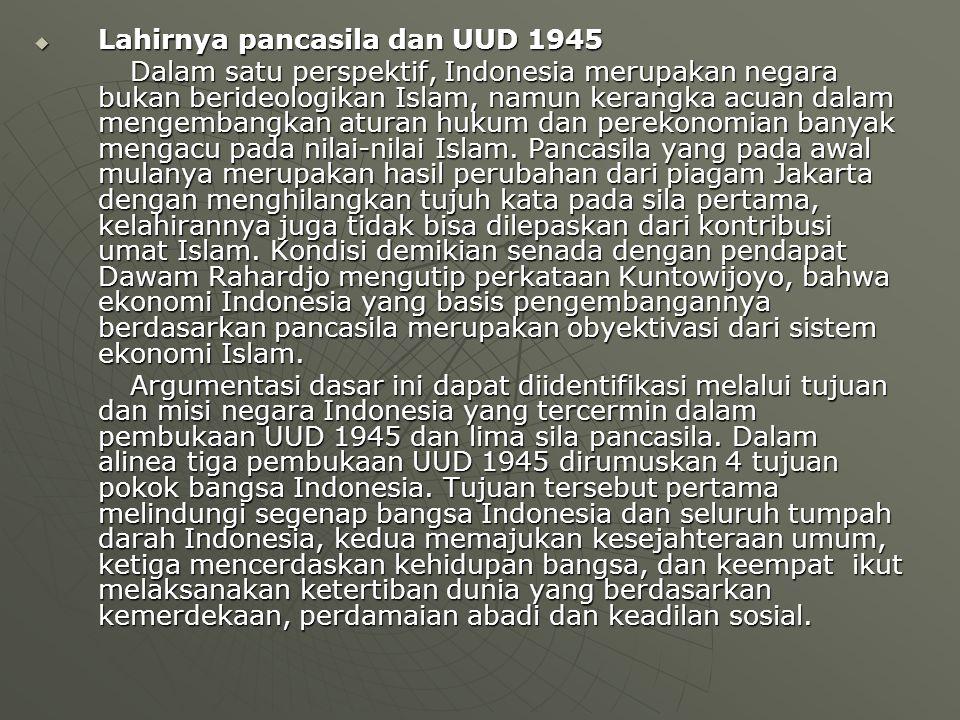 Lahirnya pancasila dan UUD 1945