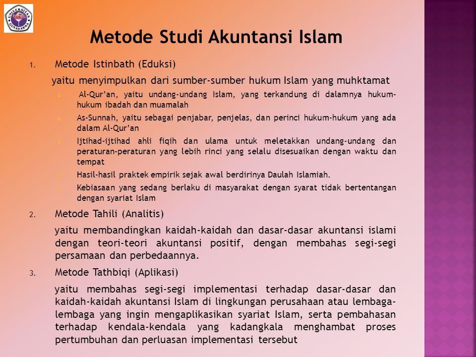 Metode Studi Akuntansi Islam