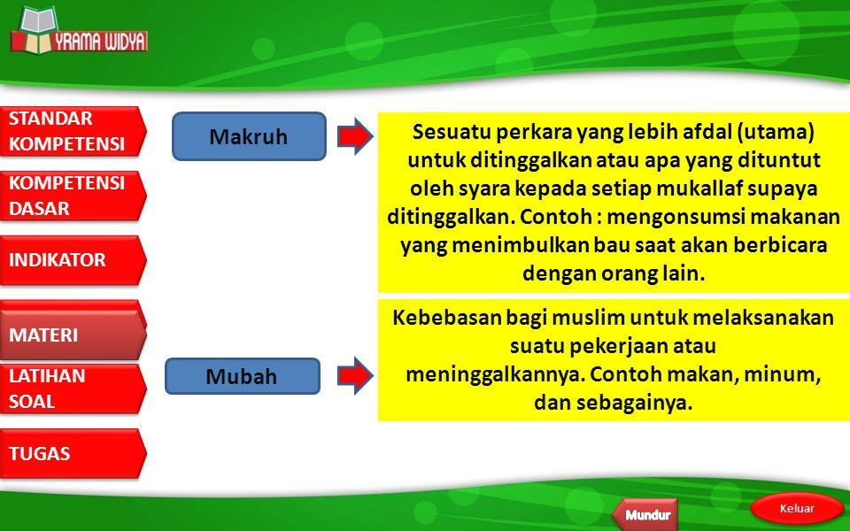 Kebebasan bagi muslim untuk melaksanakan suatu pekerjaan atau
