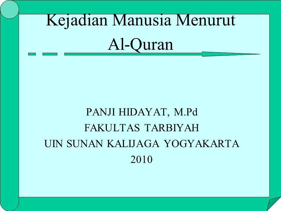 Kejadian Manusia Menurut Al-Quran
