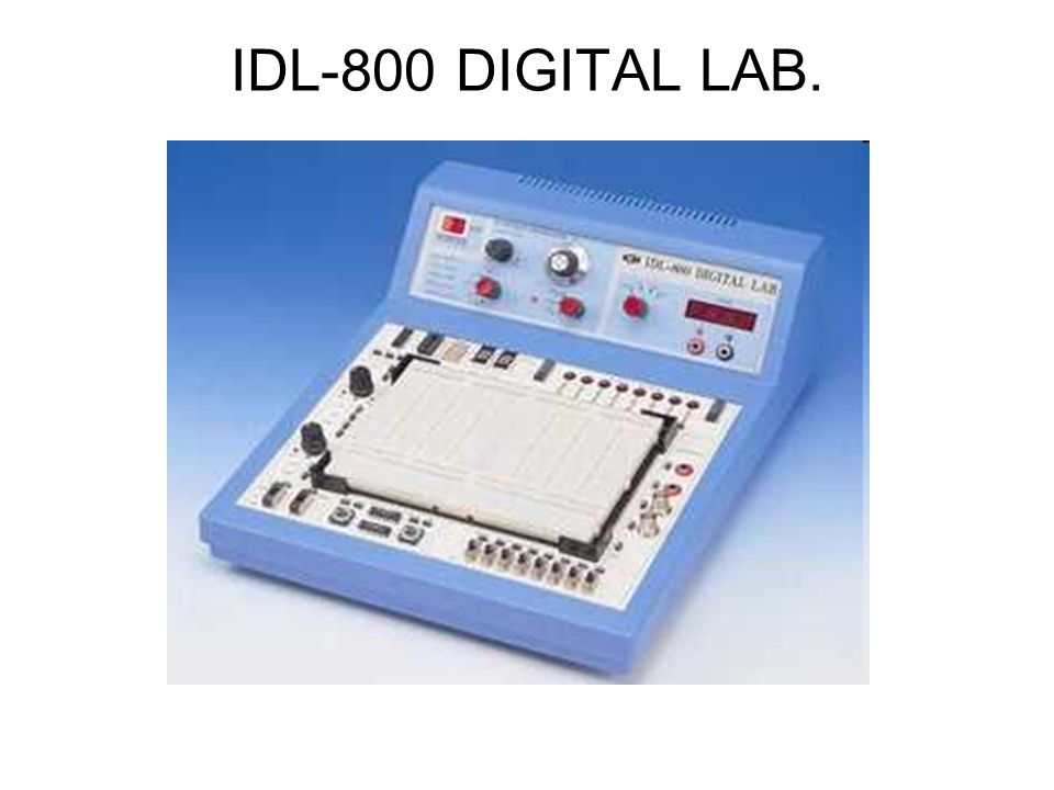 IDL-800 DIGITAL LAB.