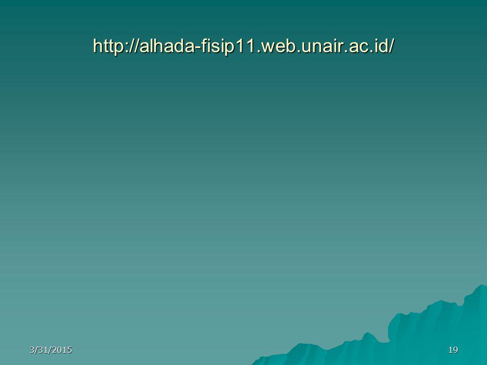 http://alhada-fisip11.web.unair.ac.id/ 4/8/2017