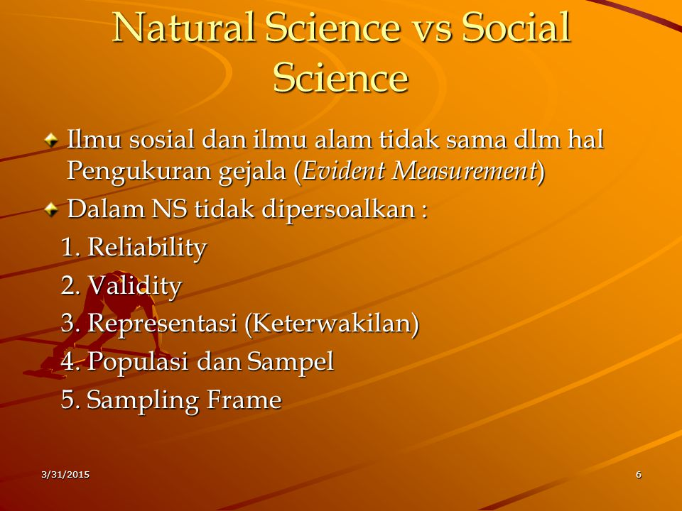 Natural Science vs Social Science