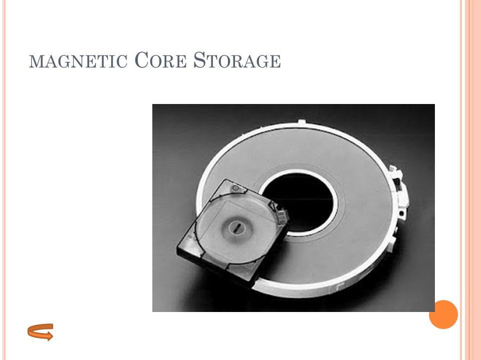 magnetic Core Storage