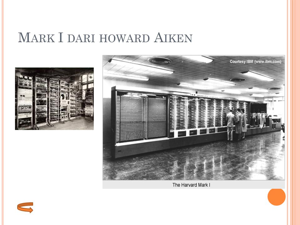 Mark I dari howard Aiken