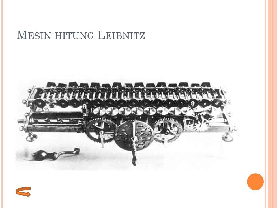 Mesin hitung Leibnitz