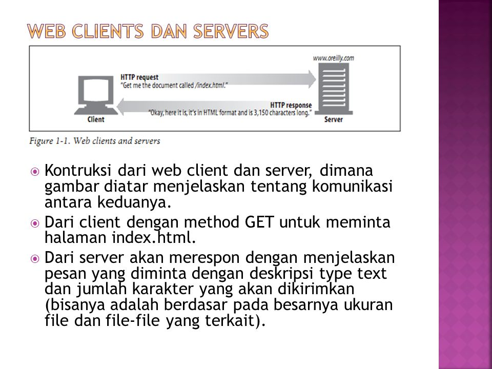 WEB clients dan servers