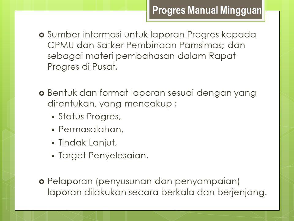 Progres Manual Mingguan