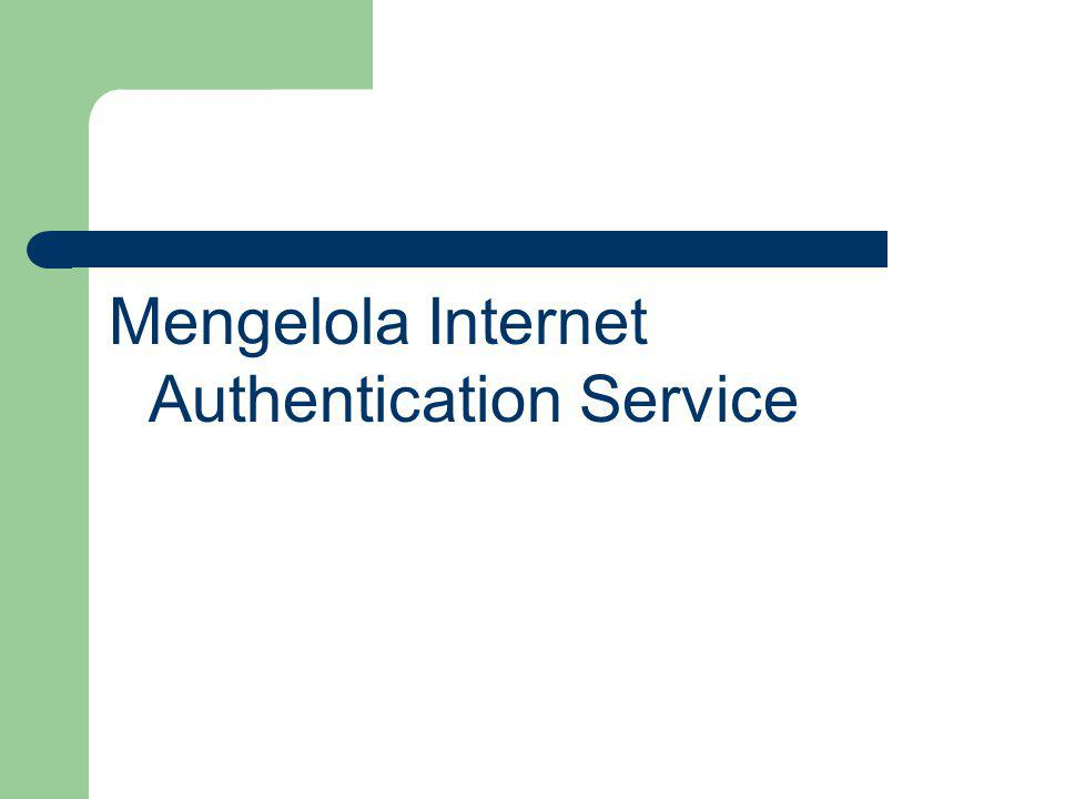 Mengelola Internet Authentication Service