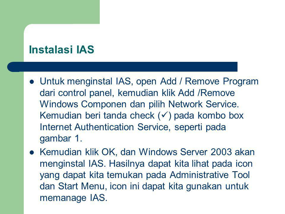 Instalasi IAS