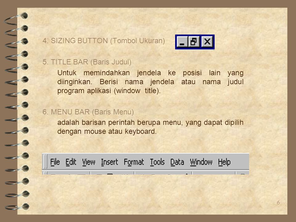 4. SIZING BUTTON (Tombol Ukuran)
