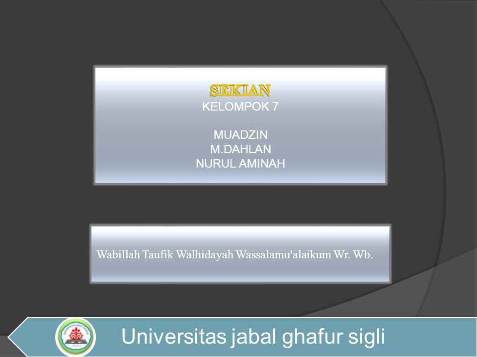 Universitas jabal ghafur sigli