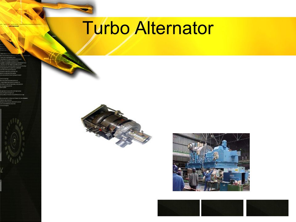 Turbo Alternator