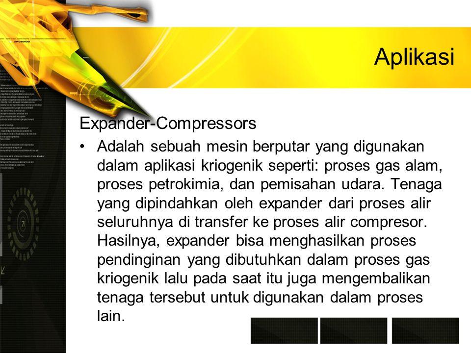 Aplikasi Expander-Compressors