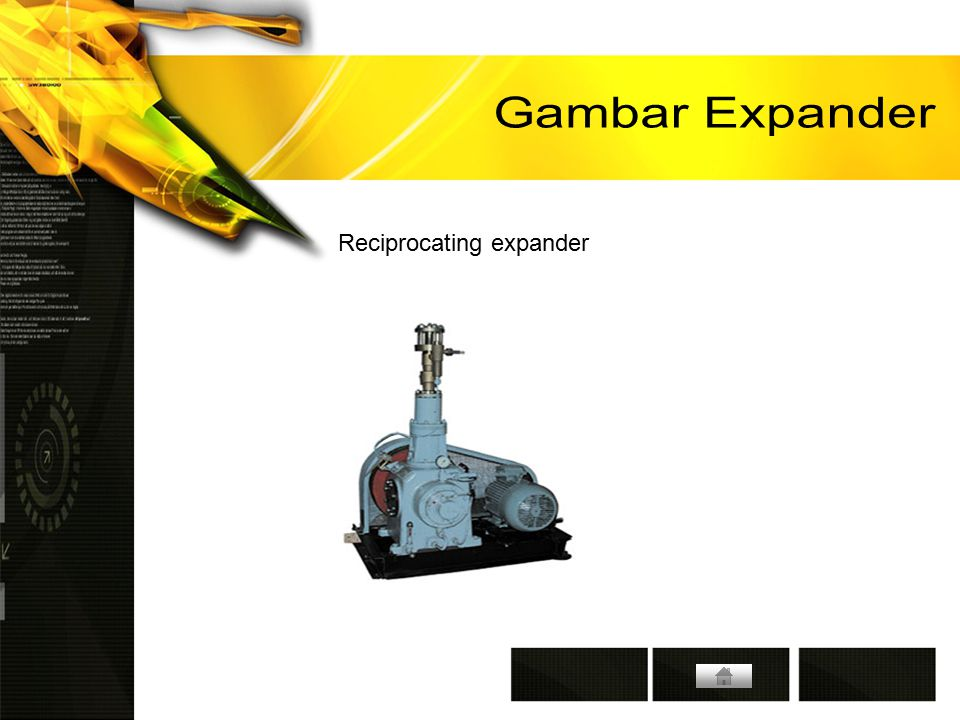 Gambar Expander Reciprocating expander