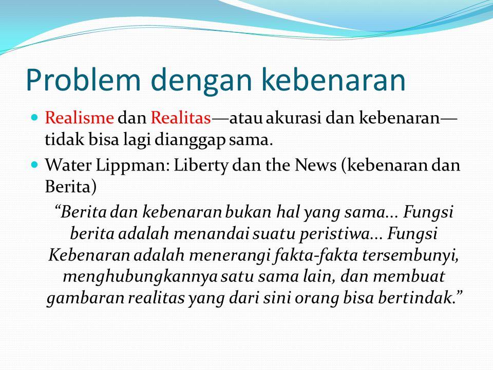 Problem dengan kebenaran