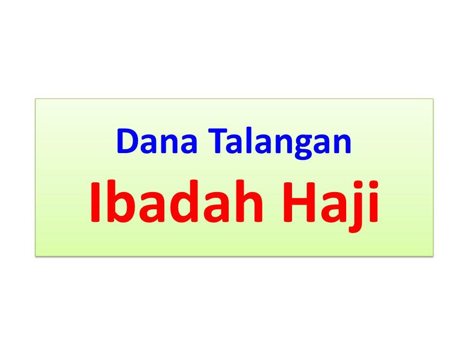 Dana Talangan Ibadah Haji