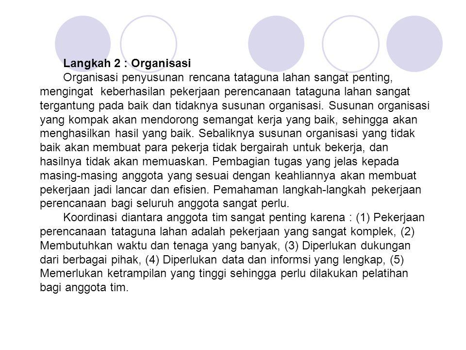 Langkah 2 : Organisasi