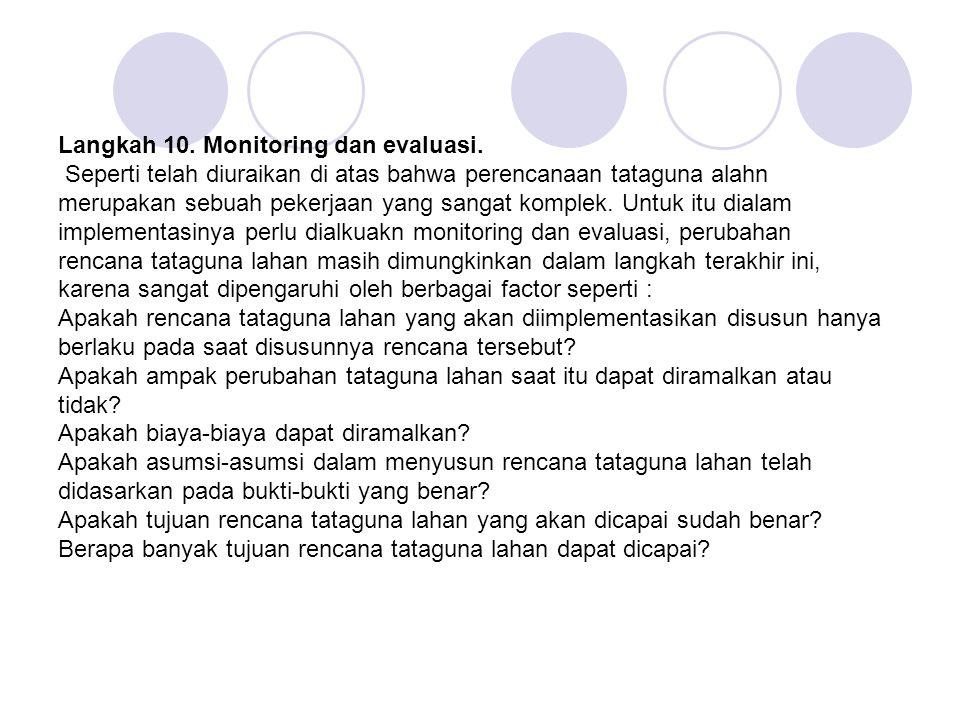 Langkah 10. Monitoring dan evaluasi.