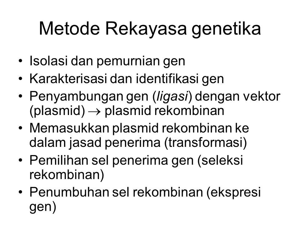 Metode Rekayasa genetika