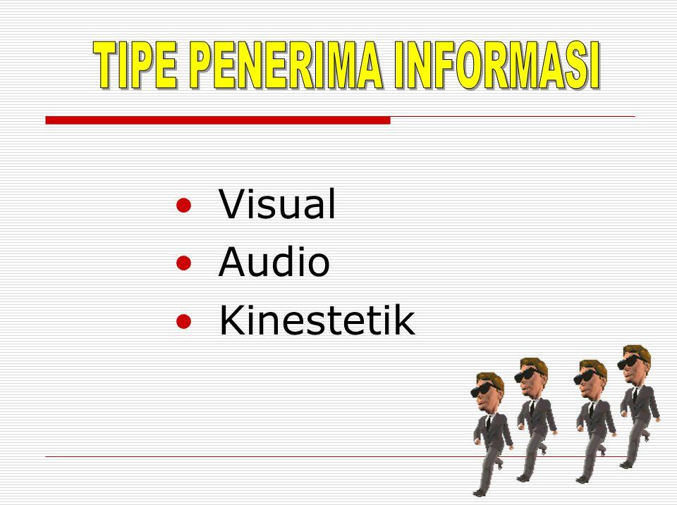 TIPE PENERIMA INFORMASI