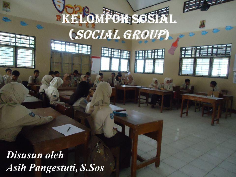 Kelompok sosial (SOCIAL GROUP)