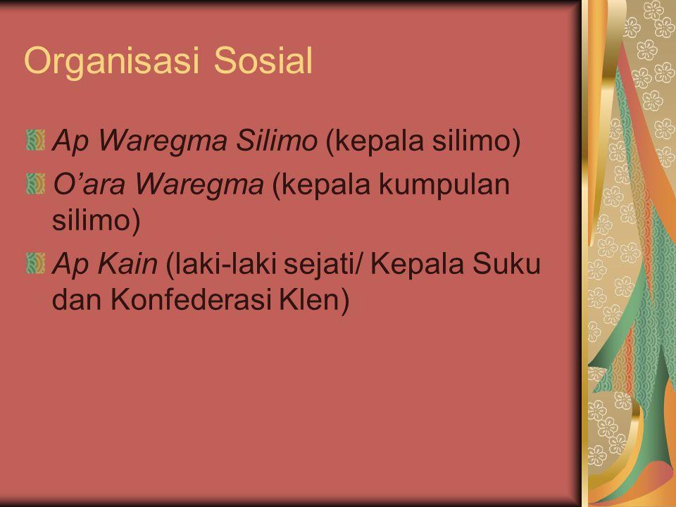 Organisasi Sosial Ap Waregma Silimo (kepala silimo)