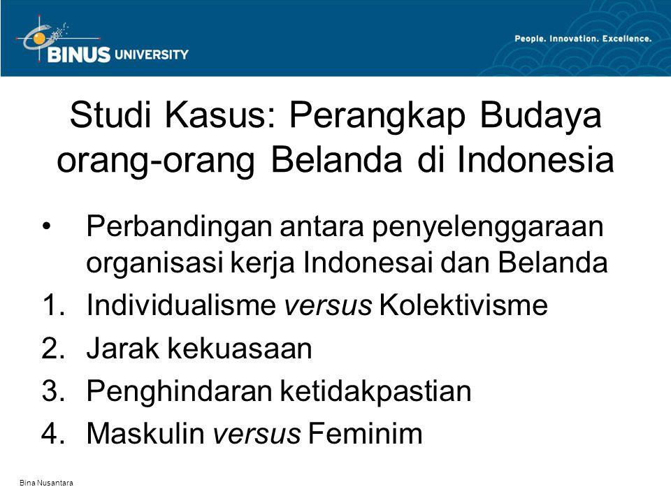 Studi Kasus: Perangkap Budaya orang-orang Belanda di Indonesia