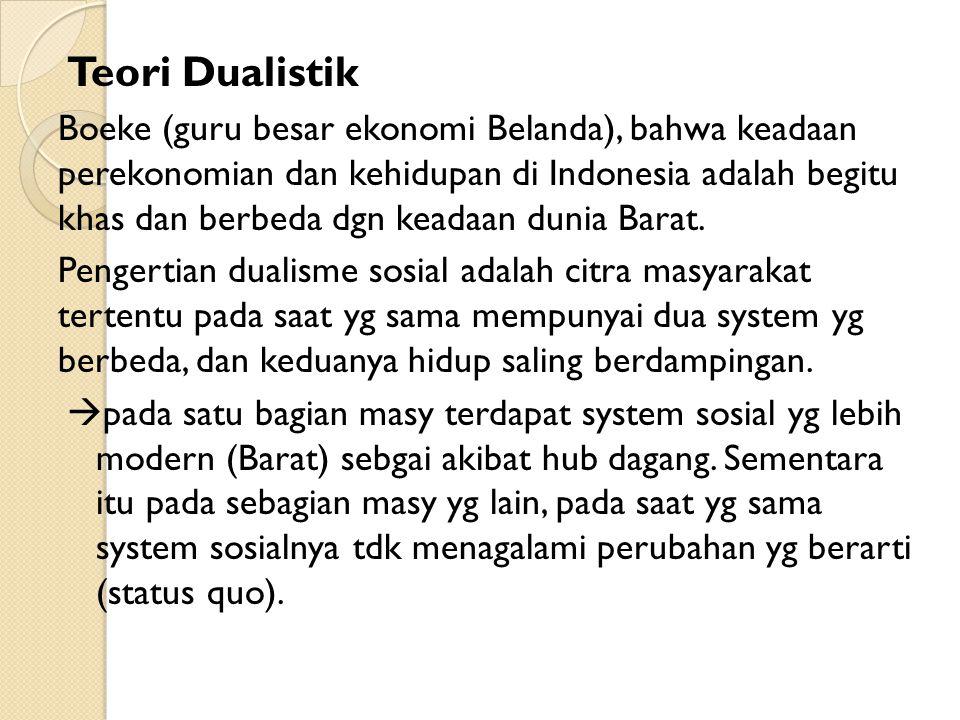 Teori Dualistik