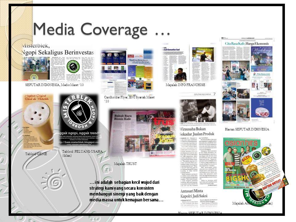 Media Coverage … SEPUTAR INDONESIA, Medio Maret '10. Majalah INFO FRANCHISE. Cardholder Flyer, BNI Syariah Maret '10.