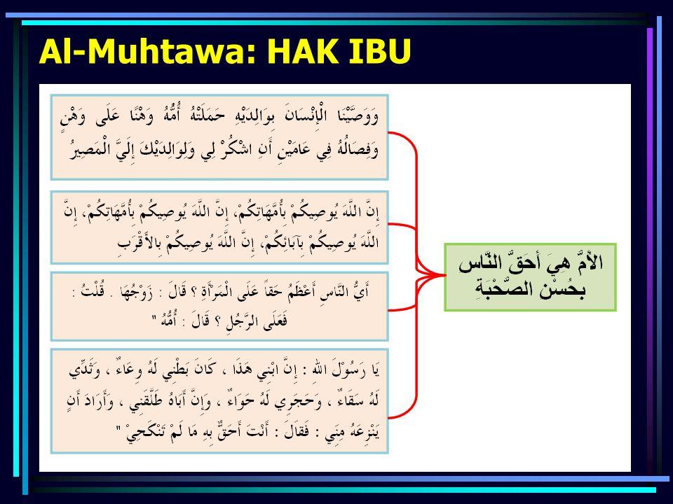 Al-Muhtawa: HAK IBU