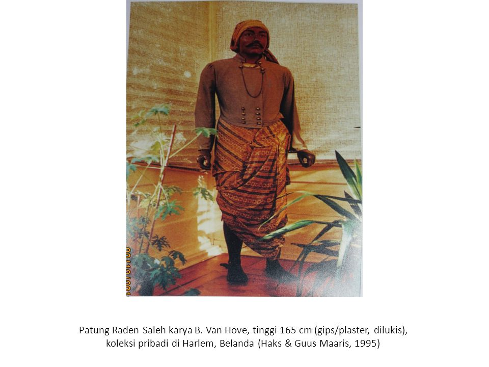 Patung Raden Saleh karya B