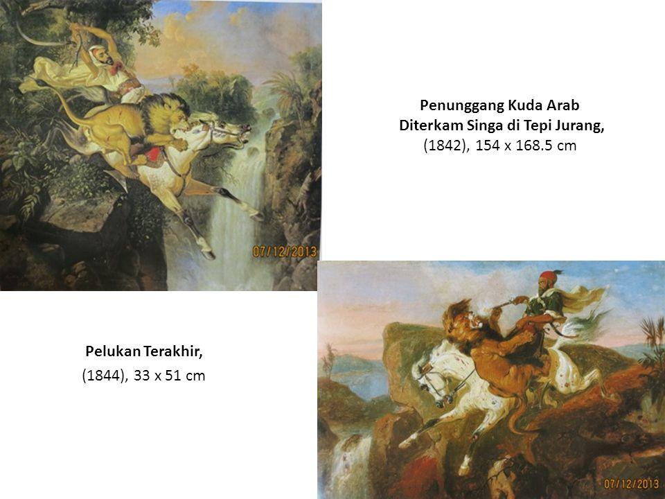 Pelukan Terakhir, (1844), 33 x 51 cm