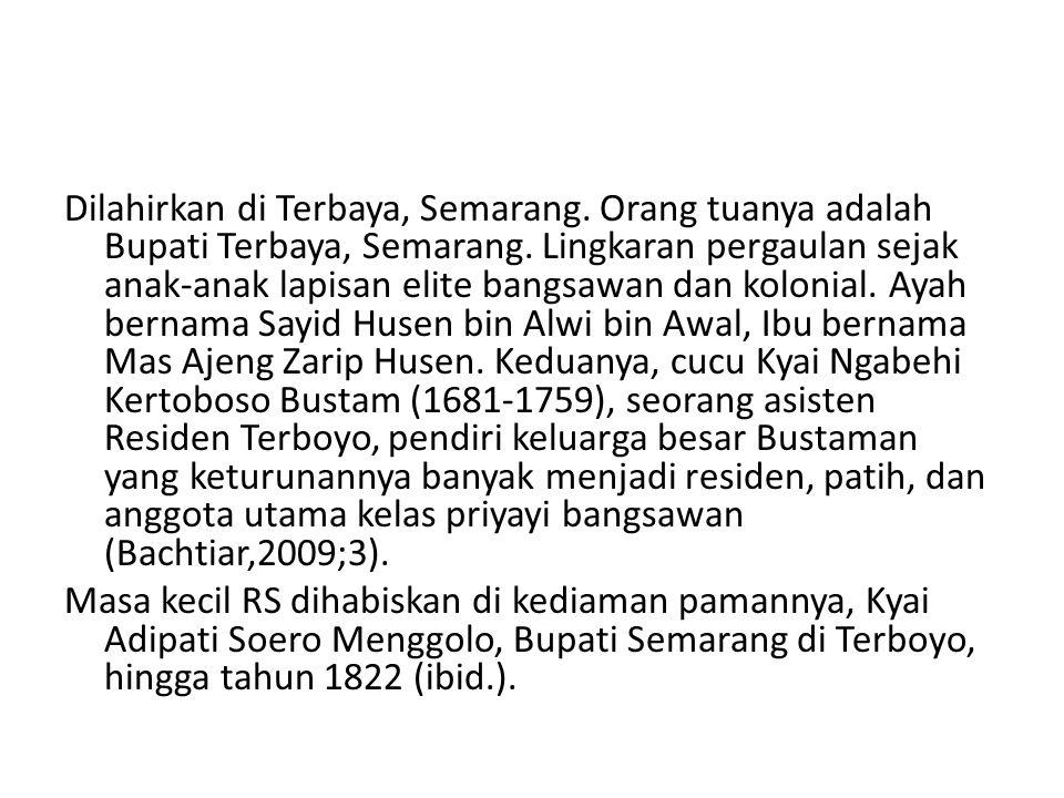 Dilahirkan di Terbaya, Semarang