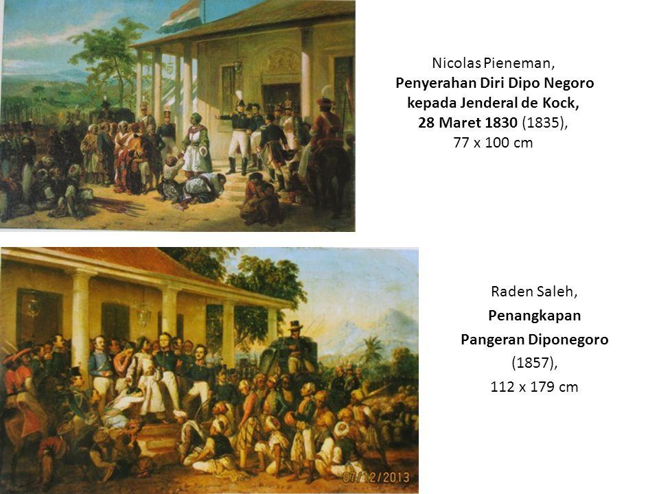 Raden Saleh, Penangkapan Pangeran Diponegoro (1857), 112 x 179 cm