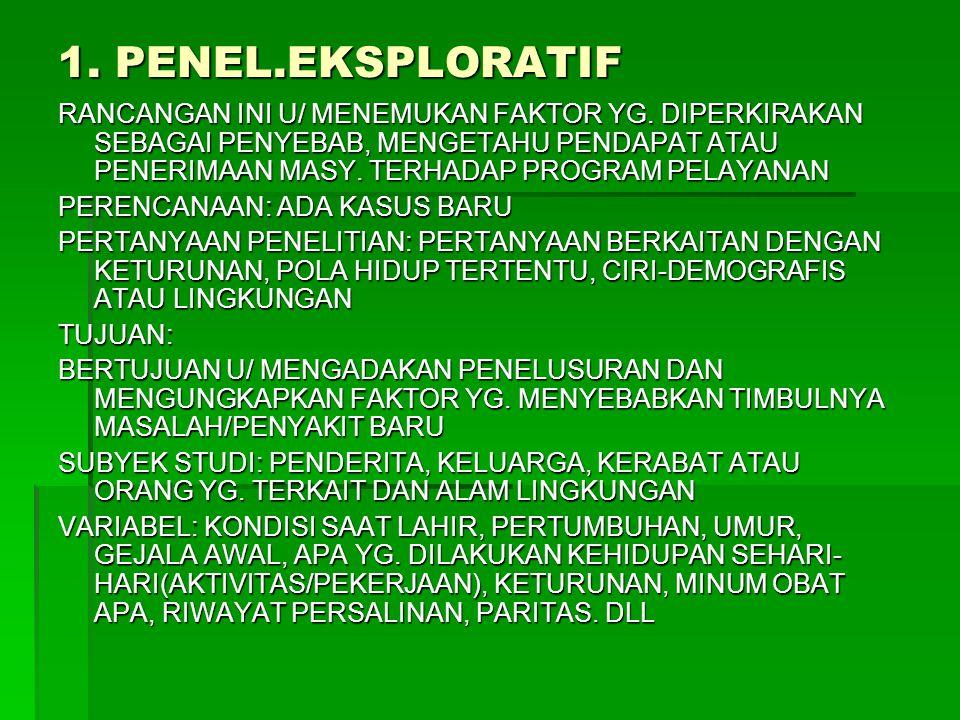 1. PENEL.EKSPLORATIF