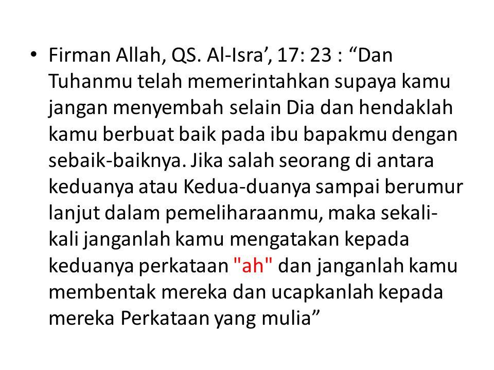 Firman Allah, QS.
