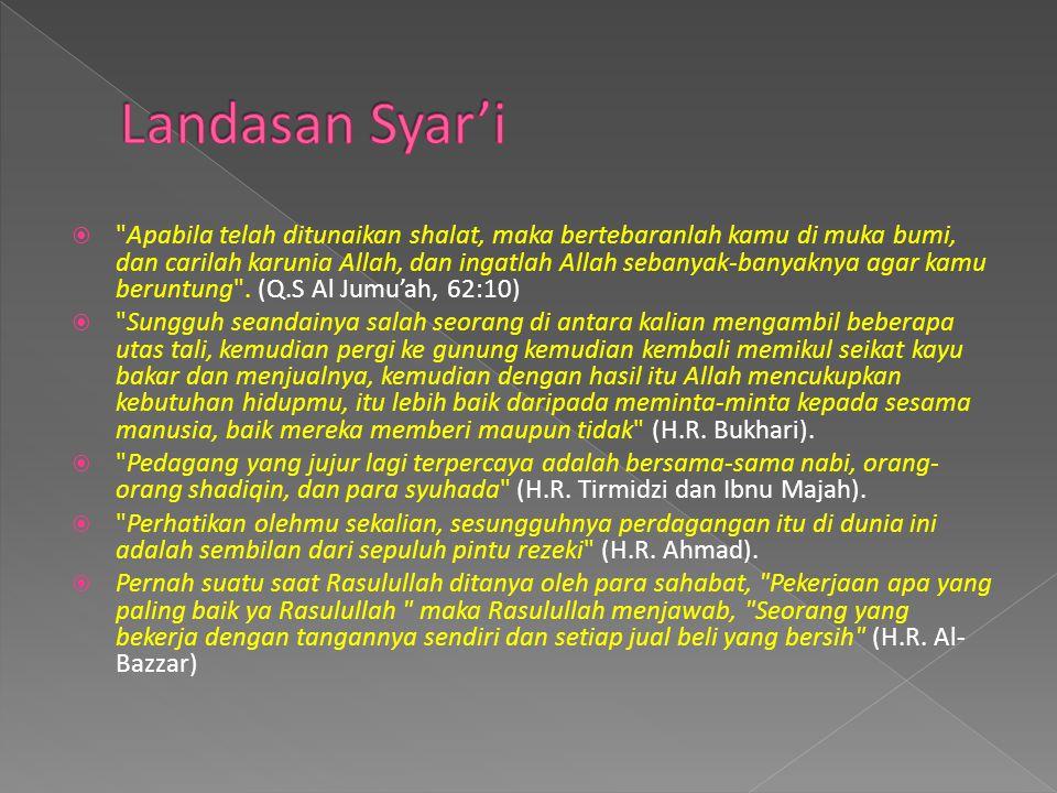 Landasan Syar'i