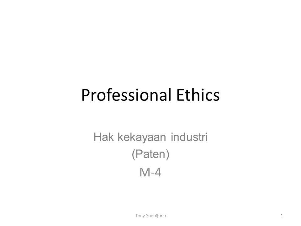 Hak kekayaan industri (Paten) M-4