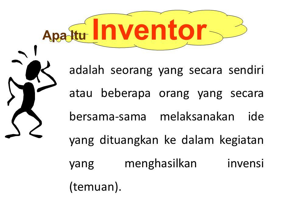 Apa Itu Inventor