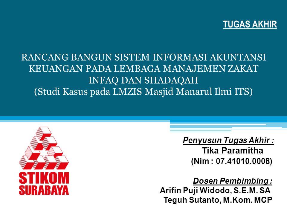 (Studi Kasus pada LMZIS Masjid Manarul Ilmi ITS)
