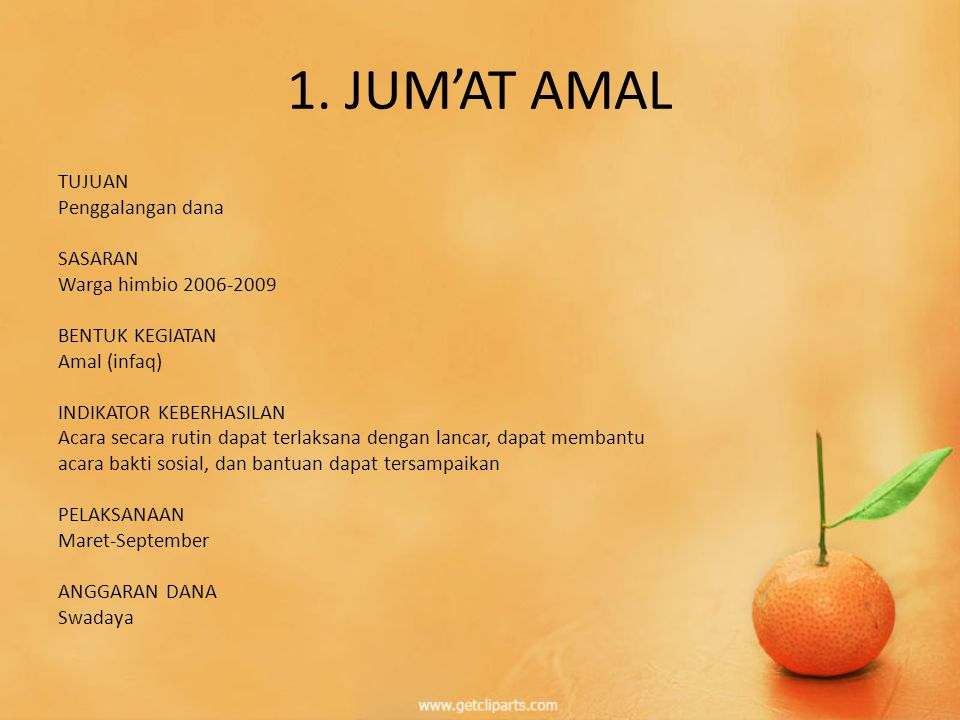 1. JUM'AT AMAL