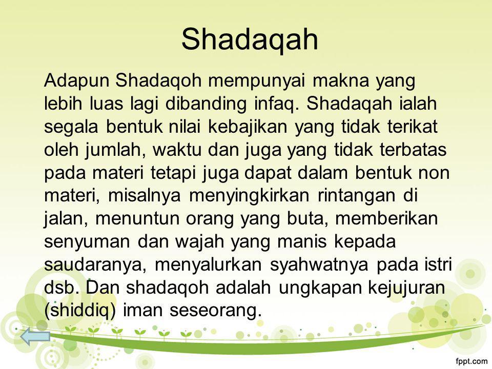 Shadaqah