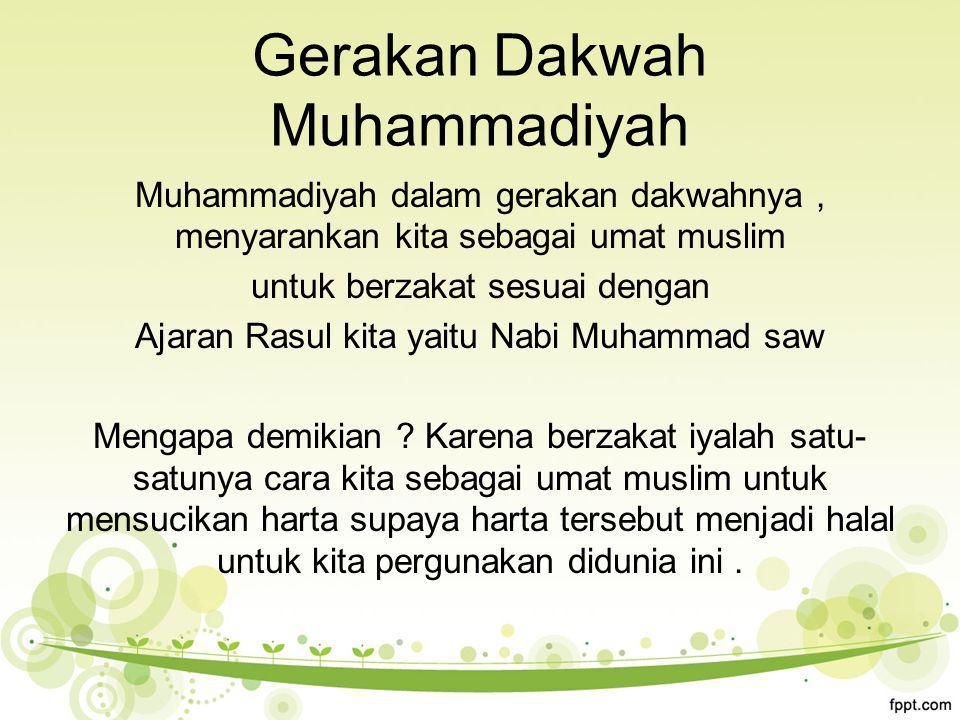 Gerakan Dakwah Muhammadiyah